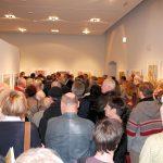 Viele Besucher auf der Vernissage Jahresausstellung DAG