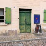 Das historische Nietzsche-Haus in Naumburg.