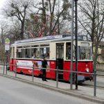 Historische Straßenbahn in Naumburg