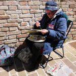 Plein Air Aquarell Fabriano - die Maler waren überall