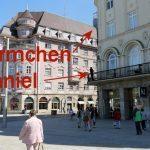 Urban Sketchers Augsburg: Auf dem K&L Ruppert Balkon