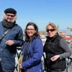 Urban Sketchers Augsburg - Daniel, Claudia, Peggy