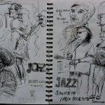 Urban Sketch Karl Meyer Fineliner in meinem Skizzenbuch