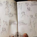 Das Foto stellt eine Fiurenstudie der Zeichnerin Aki Shimizu dar